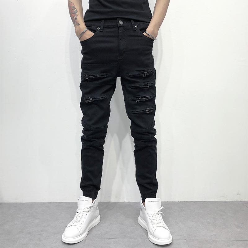 Moda Moda Los Nueva Pantalones Hombres 2018 Jeans Compre De De La wq1Hn0t e1455f87ec4d