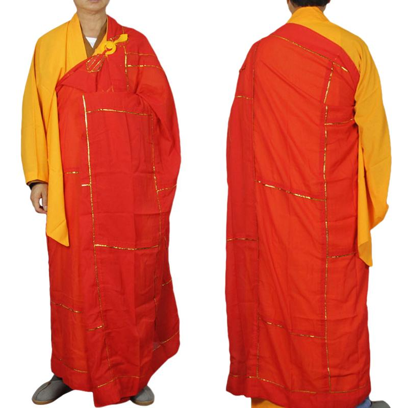 Clothes Clothing Robe Qing Meditation Robes Cassock Hai Monk Abbot Buddhist Costume 9IWEDH2