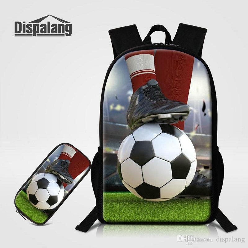 Men Backpacks Football School Bags For Teenagers Boys Back Pack Pencil Case  For Primary Soccer Rucksack Basketball Mochila Bagpack Osprey Rucksack  Backpack ... 09ef0215f3884