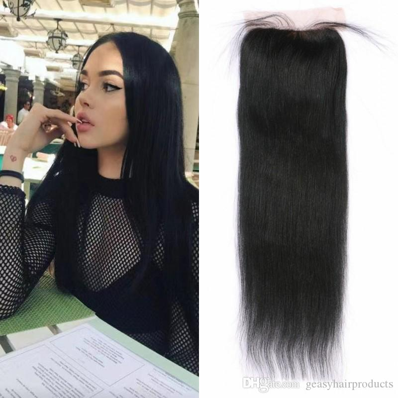 Official Website 13x4 Ear To Ear Brazilian Deep Curly Lace Frontal Closure Pre Plucked With Baby Hair 100% Human Remy Hair Closure Ali Sky Closures Human Hair Weaves