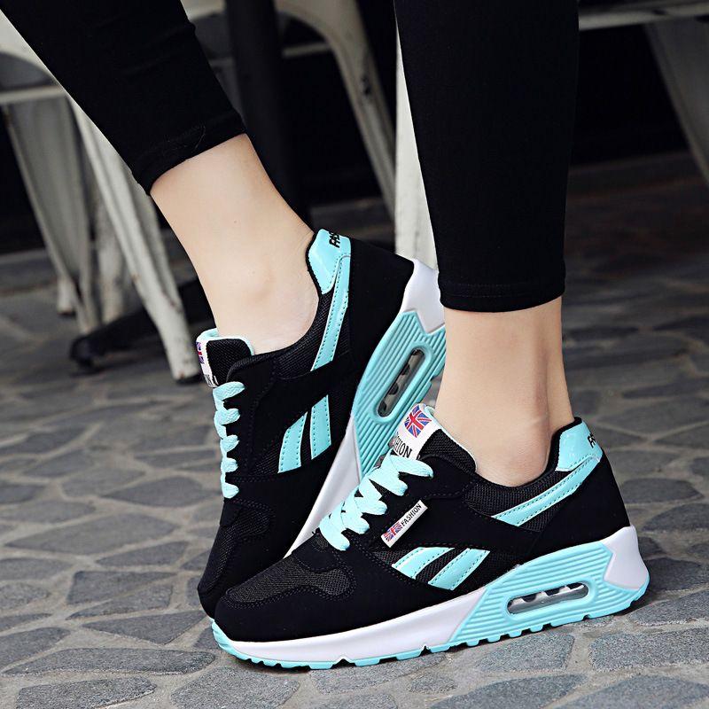 7b9605fff9e Compre Sapatas Das Mulheres 2018 Moda Primavera Pu Flats De Couro Lace Up  Sapatos Femininos Mulher Sneakers Tenis Feminino Sapatos Casuais De  Johnyang8888