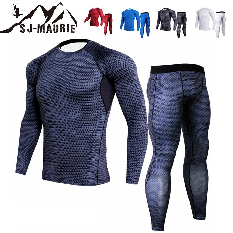 041893d8a32f Acquista Running Set Di Abbigliamento Fitness Set Manica Lunga Da Jogging A  Compressione Home Gym Salopette Sportivo Ad Asciugatura Rapida + Pantaloni  S 3XL ...