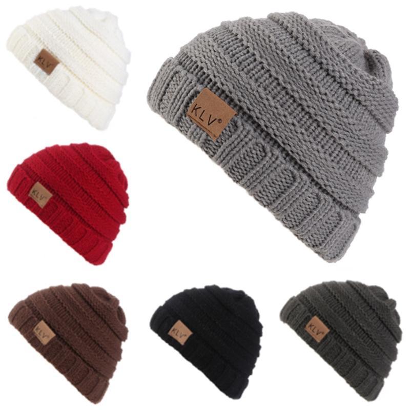 9b2ebfb1214 2019 Toddler Kids Girl Boy Baby Winter Warm Crochet Knit Hat Children Ski Beanie  Cap From Qingfengxu