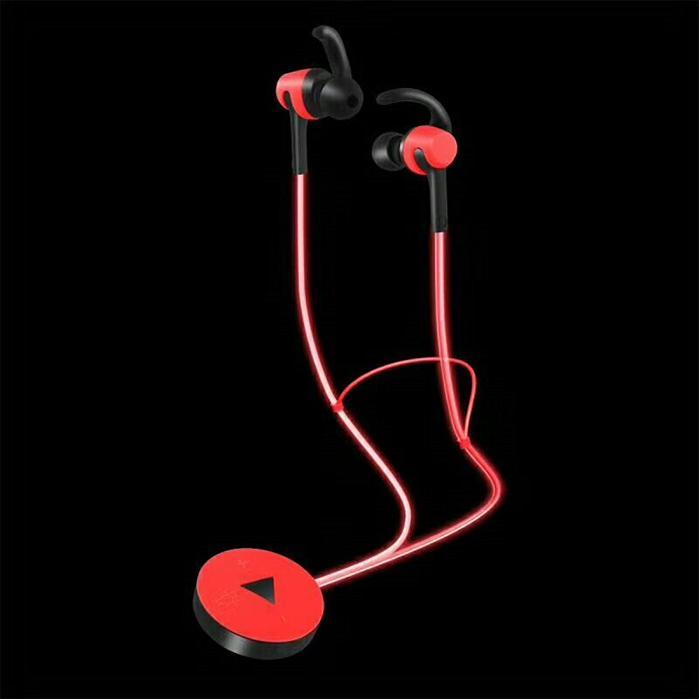 9be3f03e504 ZW14 Luminous Earphone Noctilucence Glow In Dark Wireless Bluetooth Ear  Hook Neckband In Ear Earphone For Iphone X Samsung S8 Plus Note 8 Wireless  Headset ...