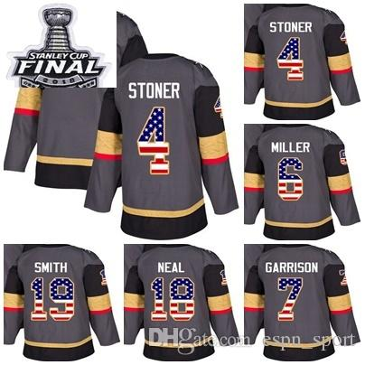 2f7684ede 2018 Stanley Cup Final Vegas Golden Knights 4 Clayton Stoner 6 Colin ...