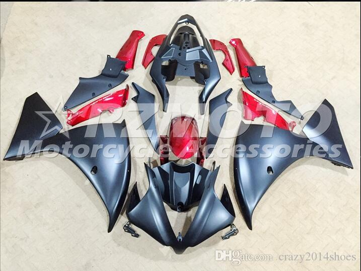 3 Free Gifts New motorcycle Fairings Kits For YAMAHA YZF-R1 2013-2014 R1 13-14 YZF1000 bodywork hot sales loves Black B72