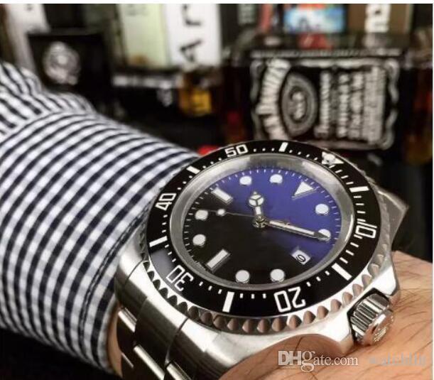 Top Armbanduhr Herren Business Saphir Mechanische Sport Steel Qualität 116661 Keramik 44mm Luxury Automatikuhr Lünette Stanless Hohe N8vmn0w