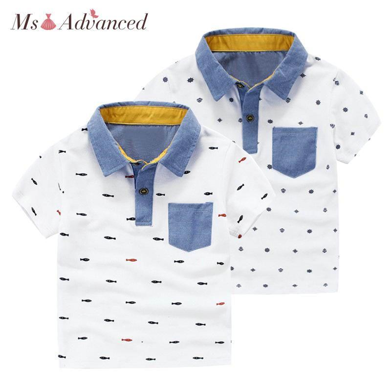 9760ffacc 2018 New Kids Polo Polo Para Niño Camisa Polo Moda de algodón de manga  corta para niños Ropa Polo Niños camisa de verano para niños ropa