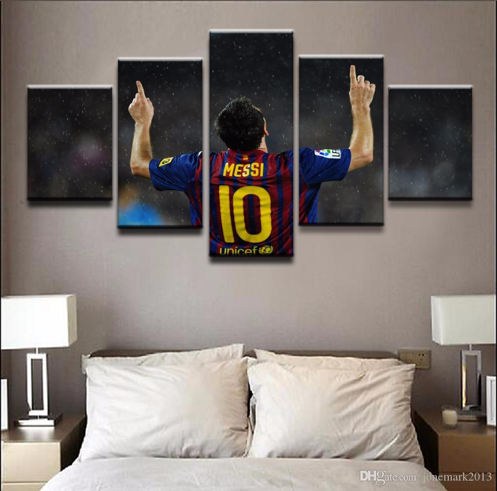 2019 Canvas Paintings Home Decorative HD Prints Poster Framework For Living Room Sports Football Star Pictures Wall Art From Jonemark2013 3819