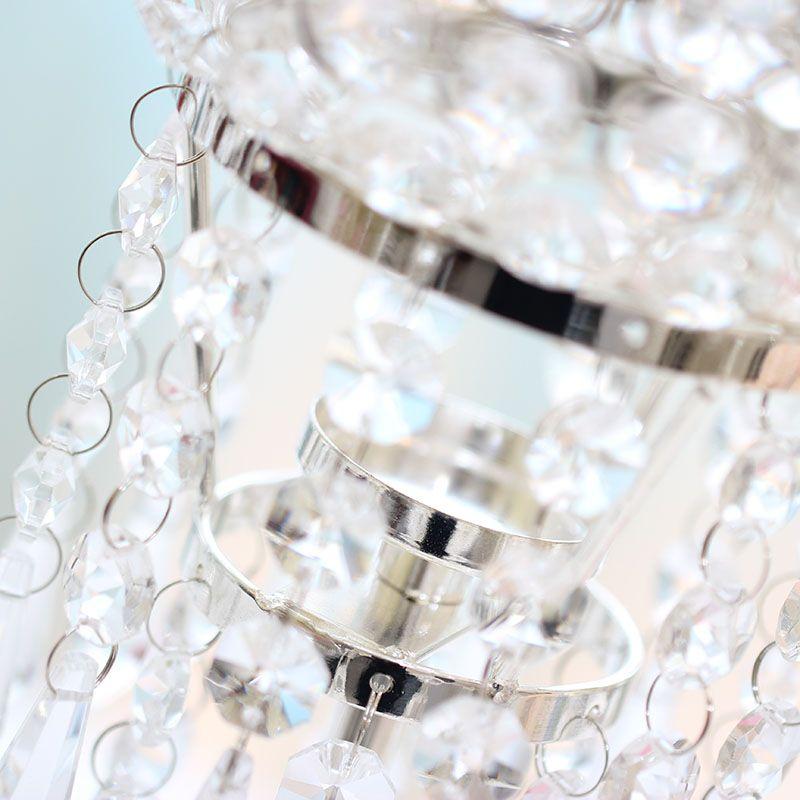 Crystal Candle Holder/Acrylic Crystal Wedding Centerpiece/Table Centerpiece/H61cm 53cm