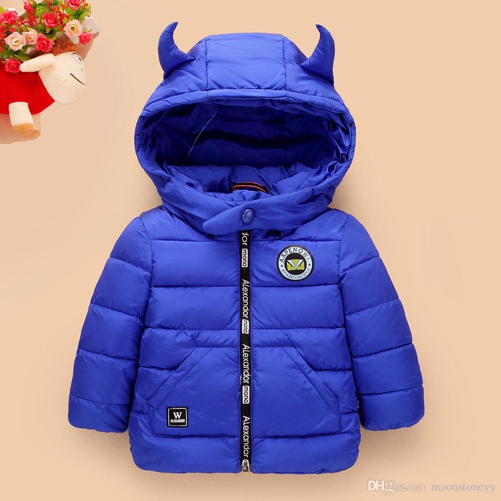 9c16c3047 Kids Girls Boys Winter Coat Warm Children s Winter Jackets Cotton ...
