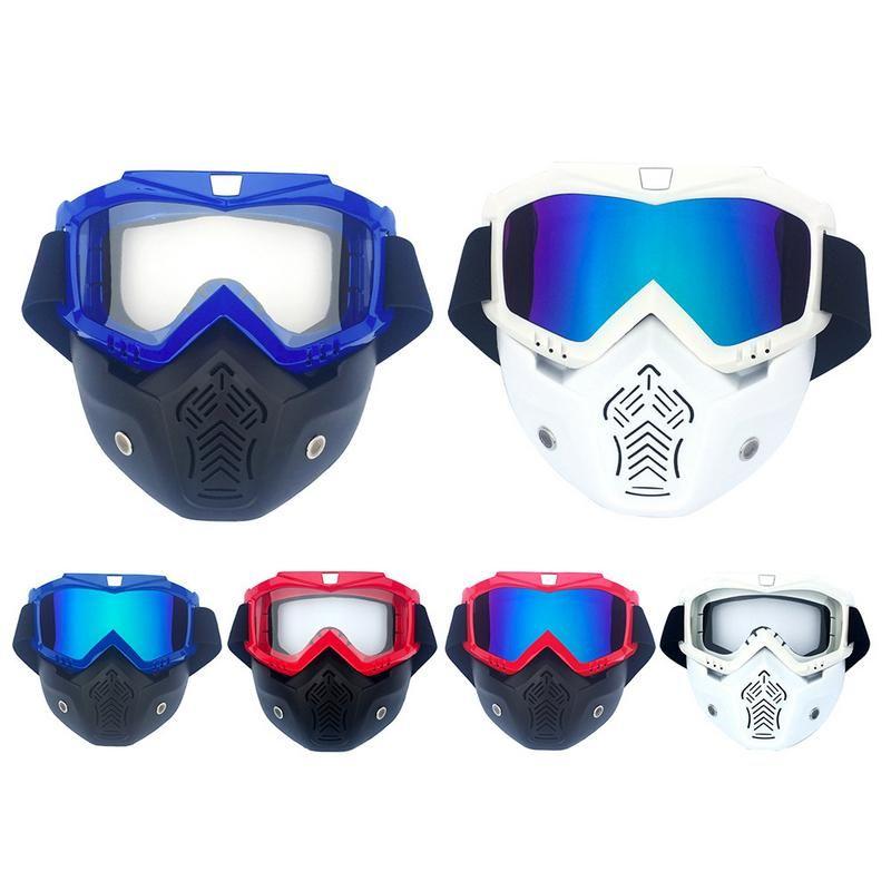 Compre Homens Mulheres De Esqui Snowboard Snowmobile Óculos De Neve De  Inverno À Prova De Vento Óculos De Equitação Óculos De Esqui Motocross  Óculos De Sol ... d4d41471d9