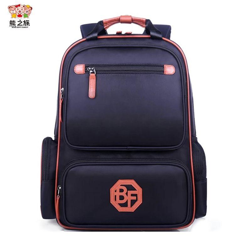 BEAR DEPT FAMILY Hot School Bags Kids School Backpack Bag For Boys Girl Waterproof  Backpack Children S Bag Ladies Travel Backpack Cheap Childrens Backpacks ... 3c026384a6ea1