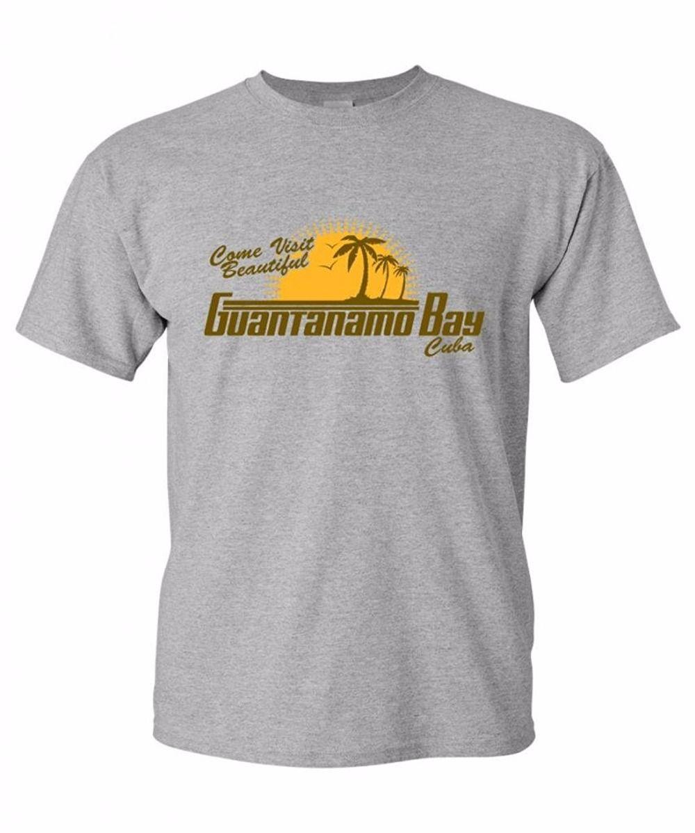 496a4b47e Unique Graphic Tees Short Funny Crew Neck Mens Come Visit Beautiful  Guantanamo Bay Cuba Funny Political Beefy Tshirt T Shirt Humor Shirts  Offensive T Shirt ...