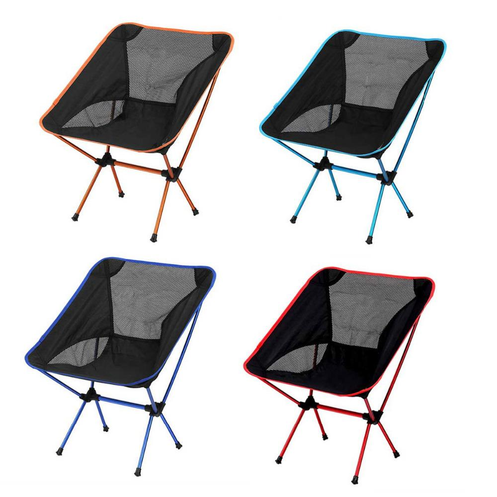 Portable Ultralight Outdoor Foldable Fishing Chair Multi Picnic Beach  Camping Backrest Chair Stool Seat Fishings Tools Outdoor Foldable Chair  Picnic Light ...