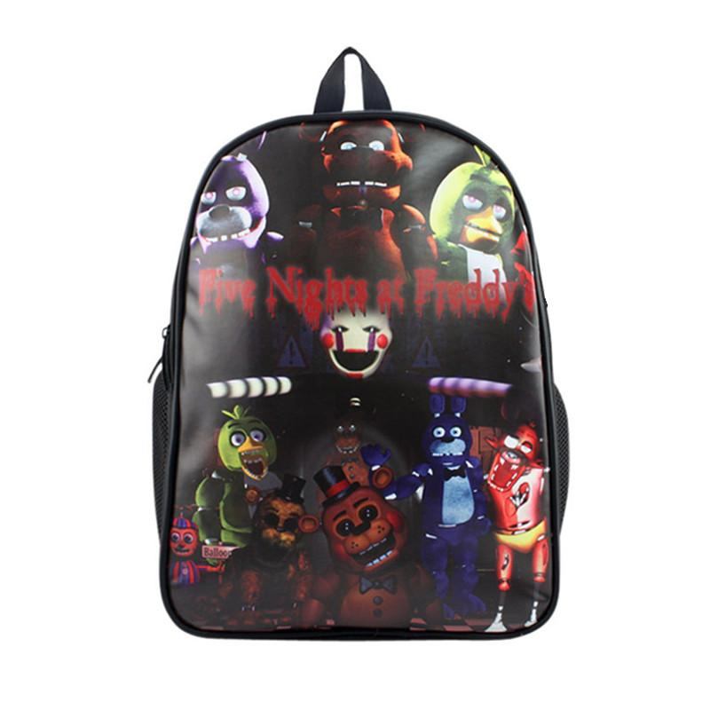 43db02c014 Five Nights At Freddy S Backpack For Teenage Girls Boys Children ...