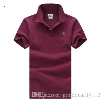 Shirt D'affaires Acheter 2018 Polo Marque Bureau Nouvelle Hommes ZOkPiXu