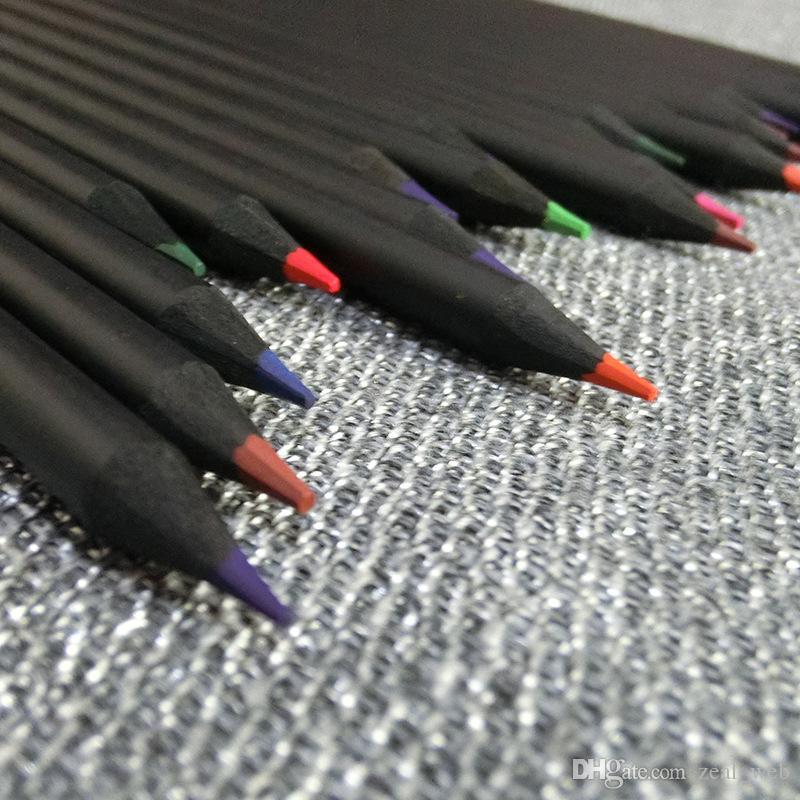 DHL Yazma Malzemeleri Renkli Kalem seti Boyama Boyama Renk Kalem çocuk Okul Hediye Çocuklar Için Sevimli Çizim Kalem