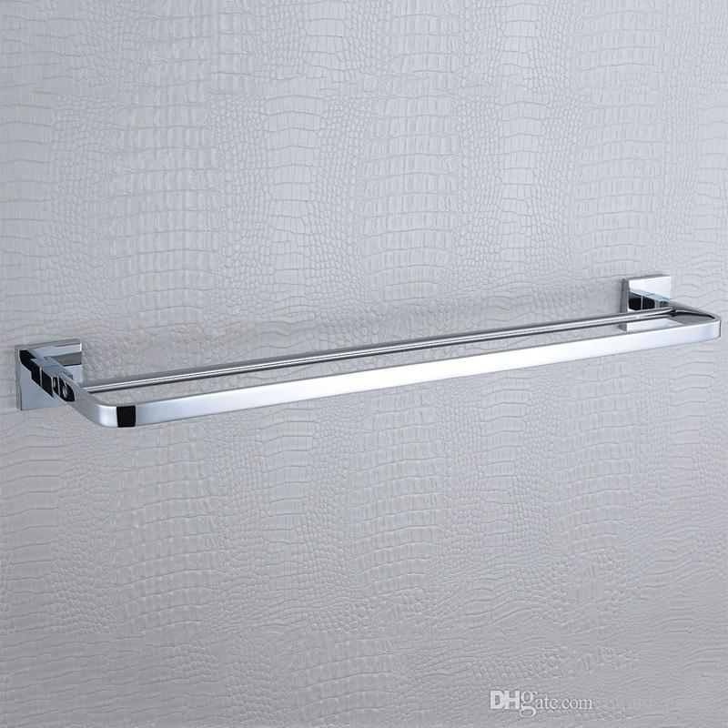 2018 Double Bath Towel Shelves 304 Stainless Steel And Bathroom ...