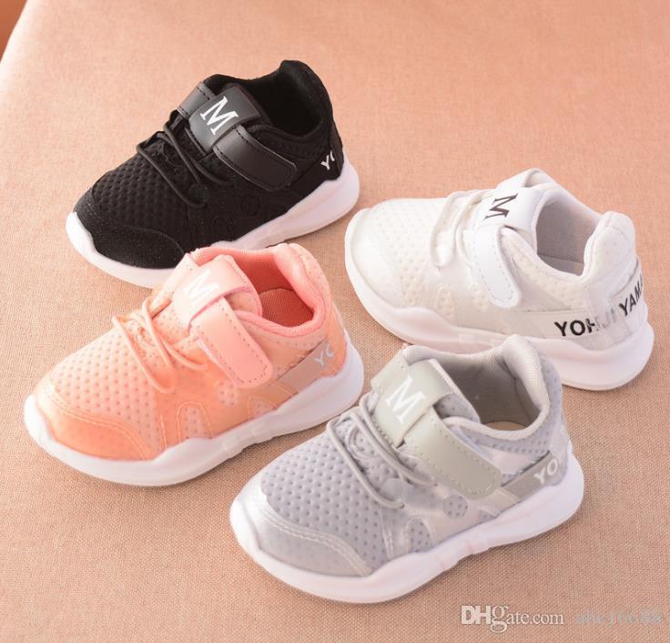 Kinder Schuhe Herbst Neue Modische Net Atmungsaktive Freizeit Sport Laufschuhe Für Mädchen Schuhe Für Jungen Marke Kinder Schuhe Mutter & Kinder