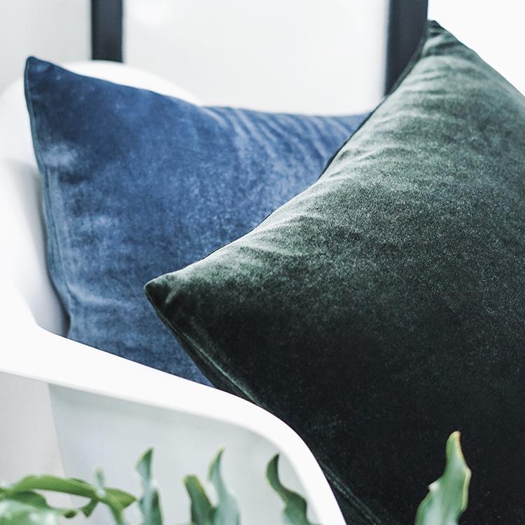 8b36c22d354c 45x45cm Solid Blue Green Velvet Cushions Cover Decorative Throw Pillowcase  Household Pillow Covers Case For Pillow Pillowcase Dimensions White  Pillowcases ...