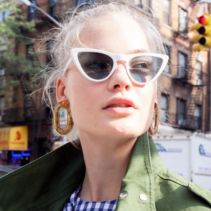 e28b607024982 Compre 2019 Nova Moda Bonito Sexy Ladies Cat Eye Óculos De Sol Mulheres  Marca Do Vintage Pequenos Óculos De Sol Feminino Oculos De Sol Uv400  Nq95112 De ...