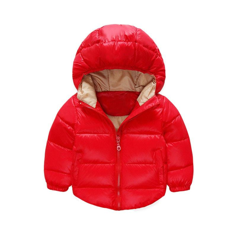 i Lovely Boy Winter Giacche Abbigliamento bambini Capispalla Stile invernale Neonati e ragazze Vestiti caldi 1-4 anni