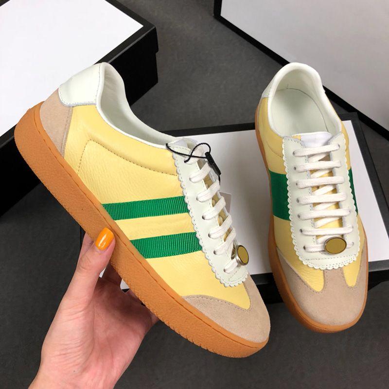 138da46fc48 Top Designer 2018 Men Fashion Luxury Brand Casual Shoes Dapper Dan ...