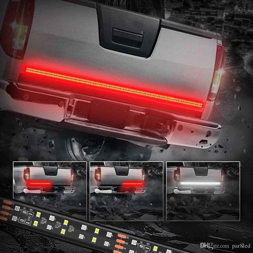 60 inch 2 row led truck tailgate light bar strip redwhite reverse 60 inch 2 row led truck tailgate light bar strip redwhite reverse stop turn signal running for suv rv trailer led lights for emergency vehicles led lights aloadofball Image collections