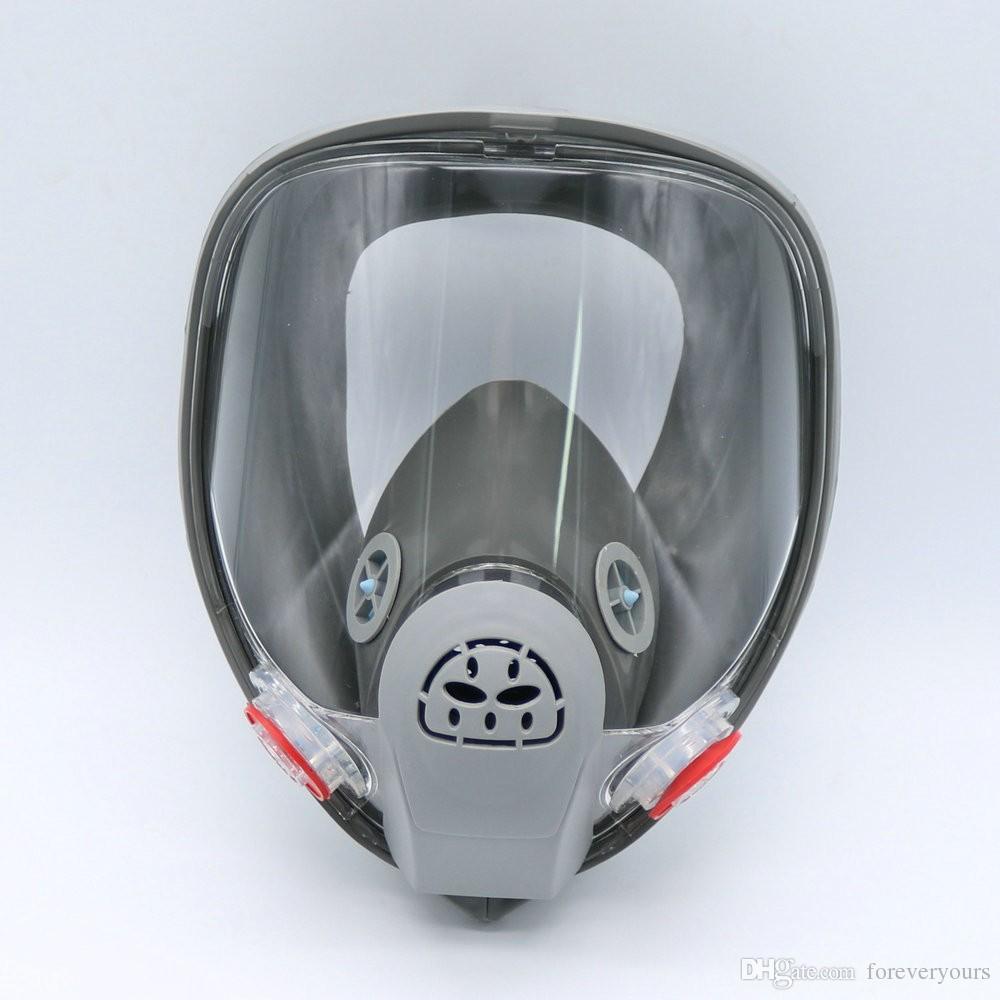 Satın Al Tam Yüz Gaz Maskesi Boyama Için Organik Buhar Kartuş Maske