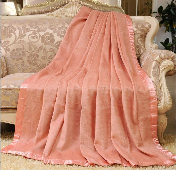 29d45cf4db Wholesale Nature Healthy 100% Mulberry Silk Blanket King Queen Size Pink  Orange Yellow Colors Wholesale Dark Red Throw Blanket Online Blanket Sale  From ...