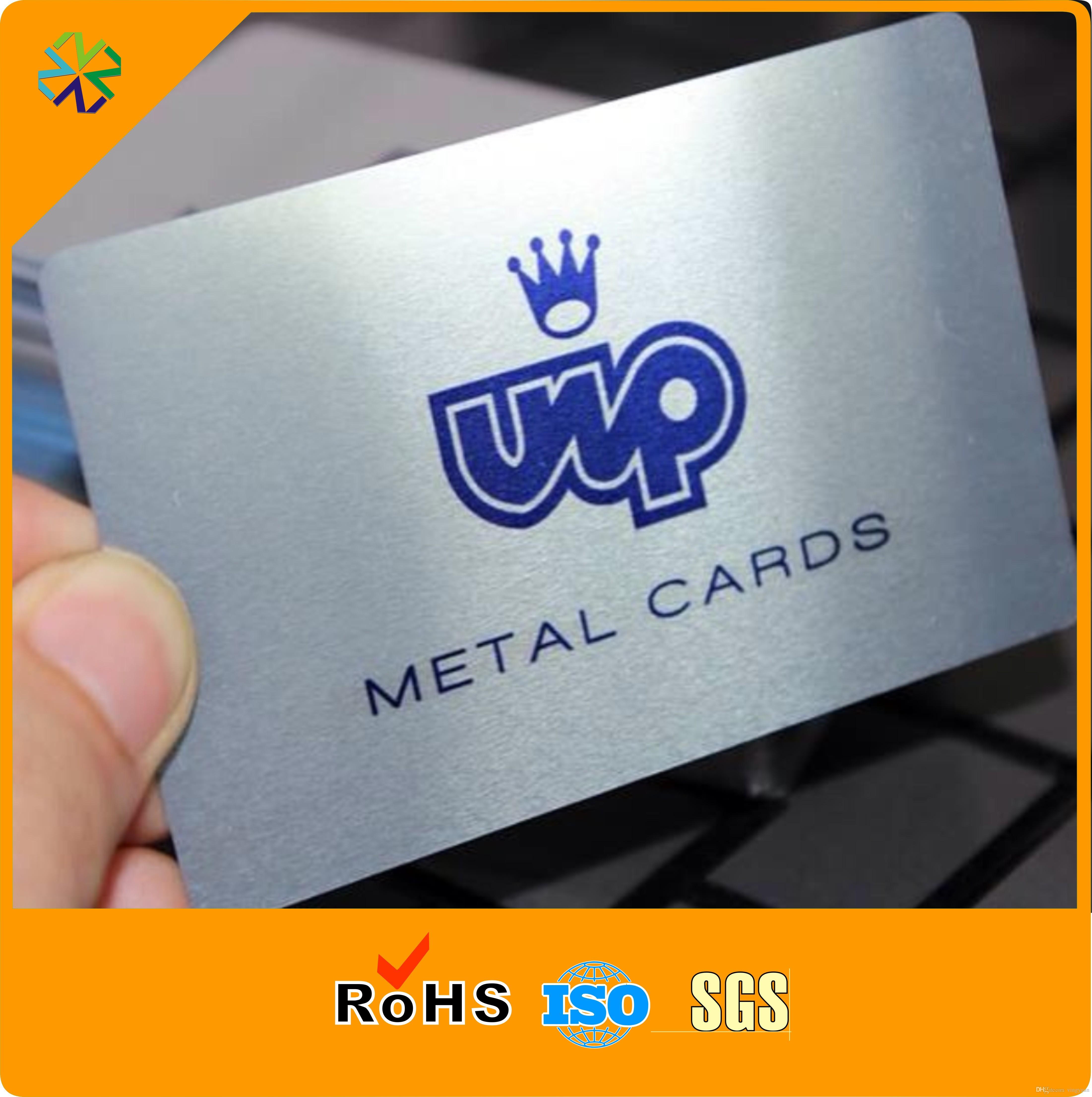 Acheter Carte De Visite Mtallique Haute Qualit En Mtal Coupe Avec Un Design Unique 16633 Du Vingyuan