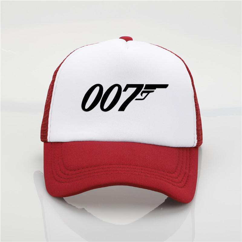 c1e8dee81ab Fashion Hat 007Spectre Printing Net Cap Baseball Cap Men And Women ...
