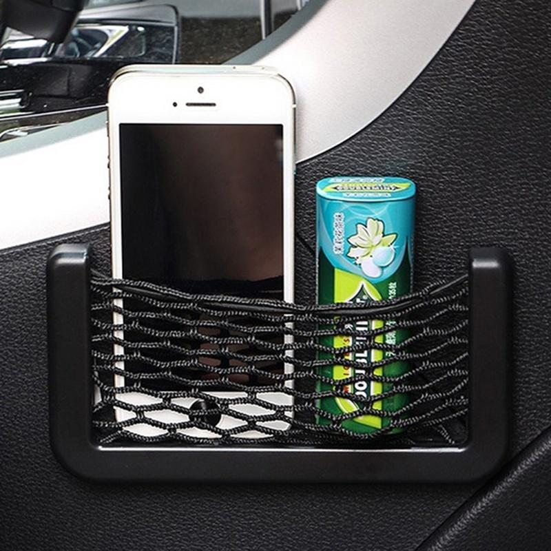 Sac Net Mesh voiture Organisateur voiture Universal Storage Holder Net Pocket pour BMW E46 Creative Divers Sac Mesh Car Styling Accessoires