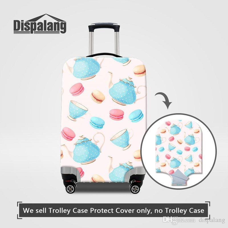 Women Travel Accessories Luggage Cover Protector Elastic Stretch Trolley Suitcase Cover For 18-30 Inch Trunk Protective Case On Travel Bags
