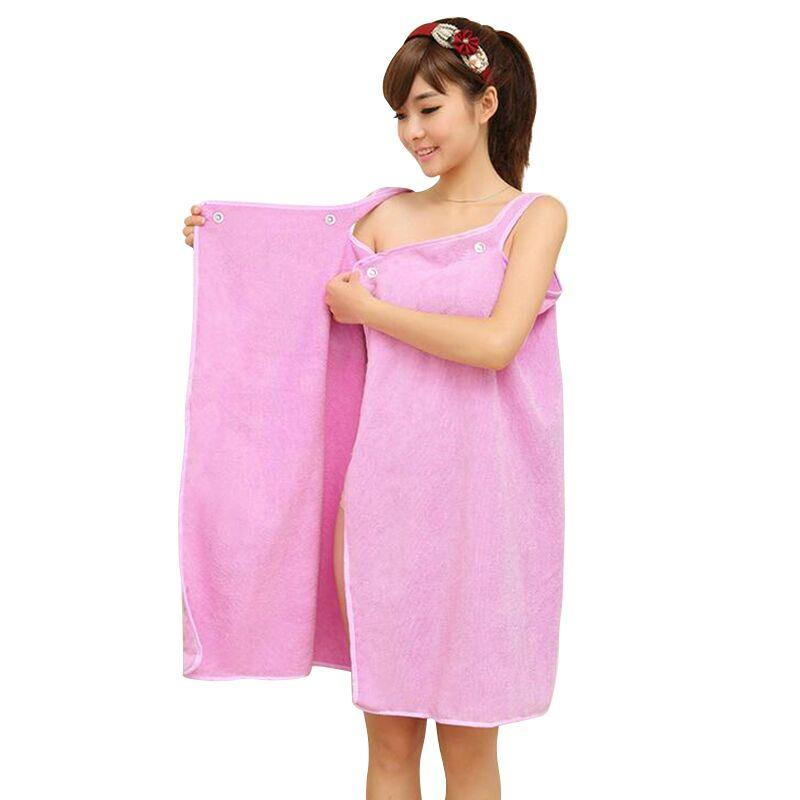 edb79f429f Women Bath Towel Wearable Microfiber Fabric Beach Towel Rose Red Soft Wrap Skirt  Towels Super Absorbent Home Textile Hot Sale Gray Bath Towels Brown Bath ...