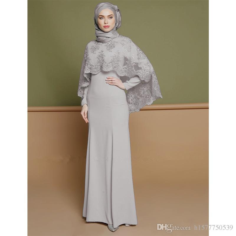 3732e2901b5 Middle East Plus Size XXL Women Abaya Garment Muslim Long Sleeve Dress Dubai  Kaftan Islamic Abayas Dresses Clothing For Girl With Cape Women Abaya Abayas  ...