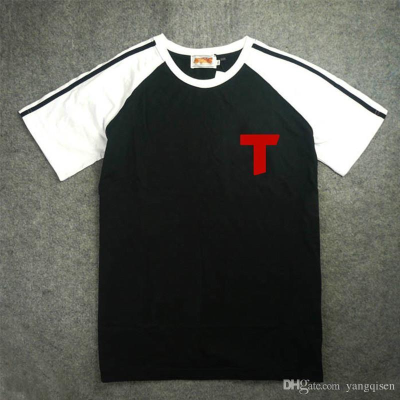 Anime Captain Tsubasa Cosplay Costume Kojiro Hyuga NO 10 Short Sleeve Men Jersey T-shirt M-2XL New