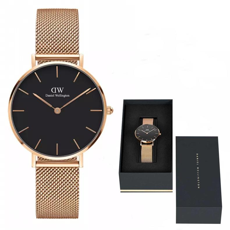Daniel Mode 32mm Luxusmarke Montre Quarzuhr Neue Uhr Armbanduhren Frauen Femme Feminino Uhren Famous Relogio Stahlband b6y7gvYf