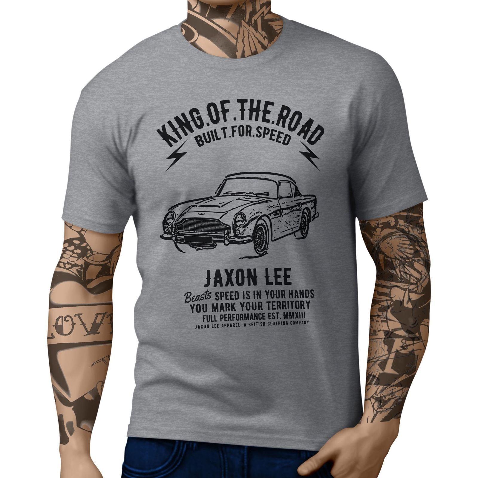 Jl King Aston Martin Dbs Inspired Motorcar Art T Shirts Shop For T - Aston martin apparel