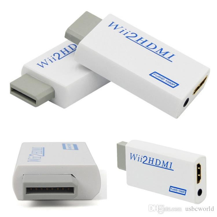 Wii To HDMI Adapter Converter Support FullHD 720P 1080P 3.5mm Audio Wii2HDMI Adapter For HDTV