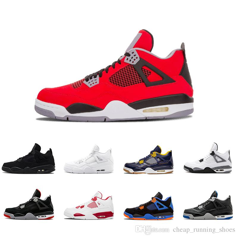 876f1f2253eb 2018 4 4s Men Basketball Shoes Royalty Oreo White Cement Fire Red Fear  Premium Black Cat Bred Alternate Motorsport Blue Sports Shoes Sneaker  Discount Shoes ...