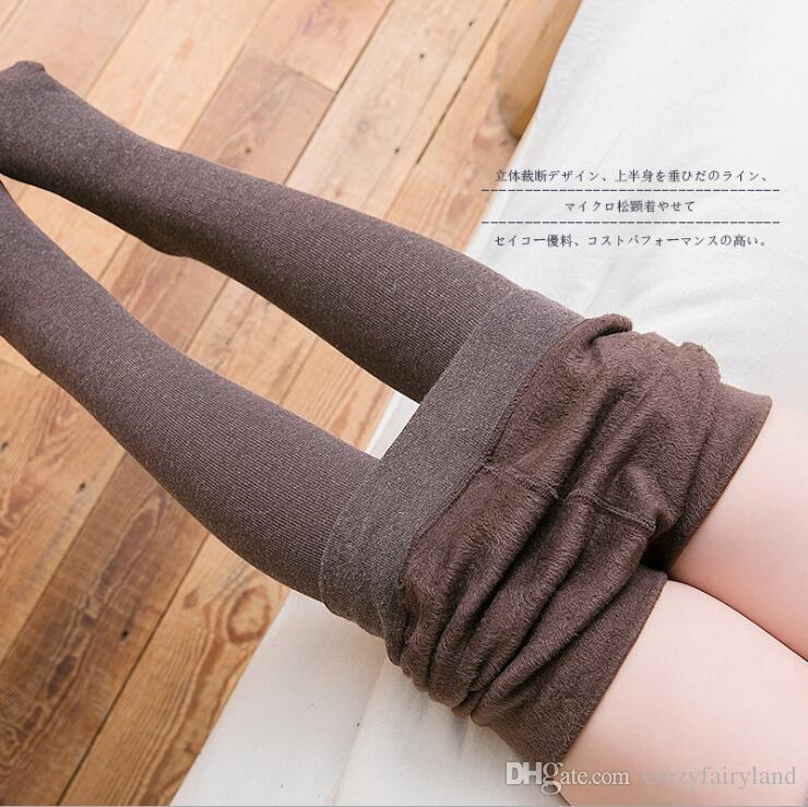 ba50dfa01ec4bf Baby Girls Stocking 2019 Fall Winter Cotton Fleece Leggings Tights ...