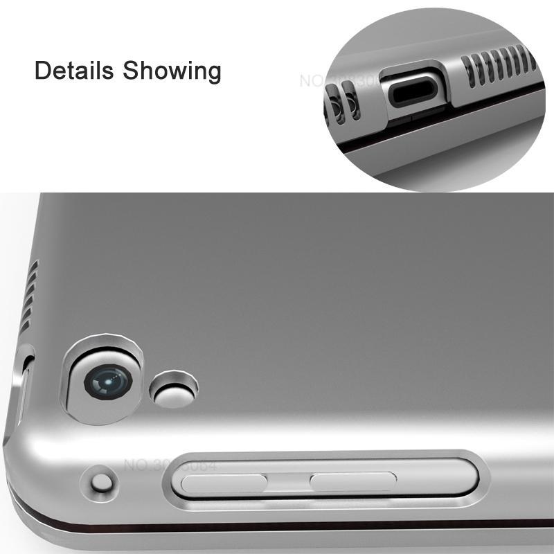 Landas Bluethooth Keyboard Case Cover For iPad Air Wireless Bluetooth Keyboard Case For iPad 5 A1476 A1474 A1475 For 2018 iPad 9.7