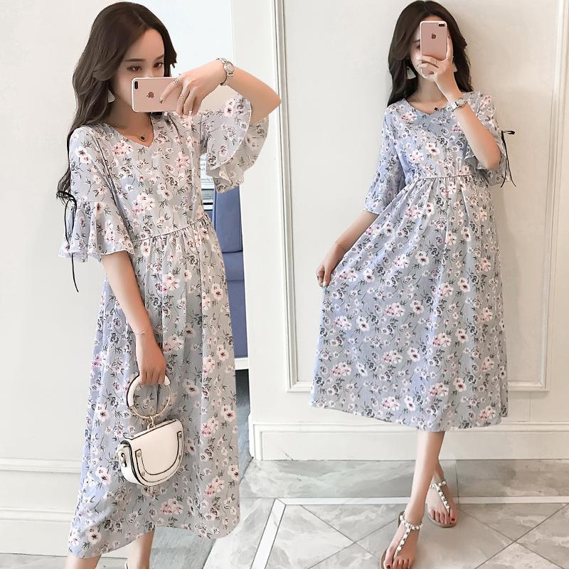Vestido largo para mujer delgada