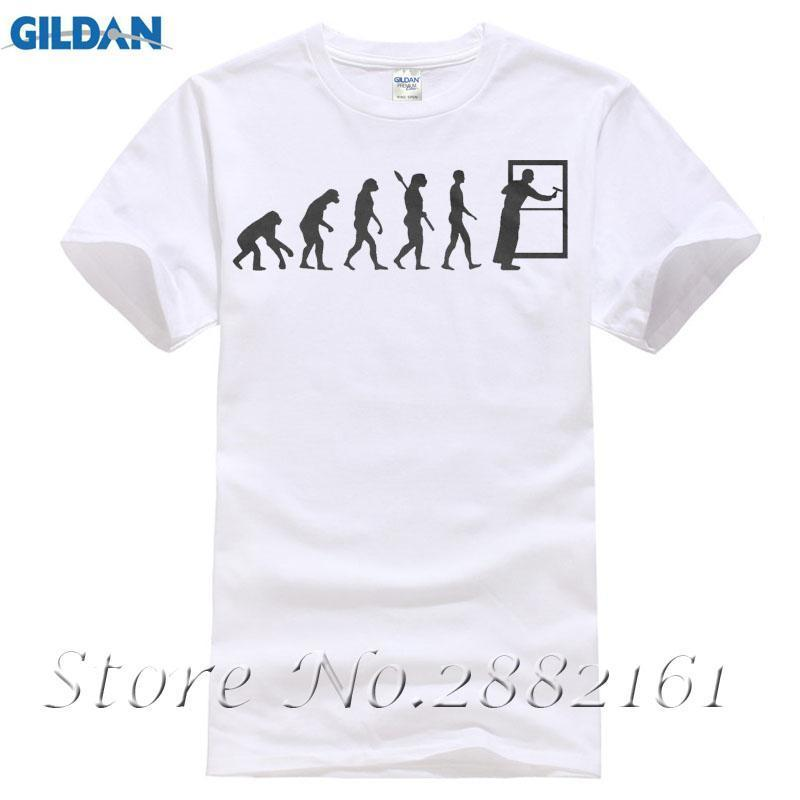 Window Cleaner Evolution Funny Cleaning Company T-shirt High Quality T-Shirt