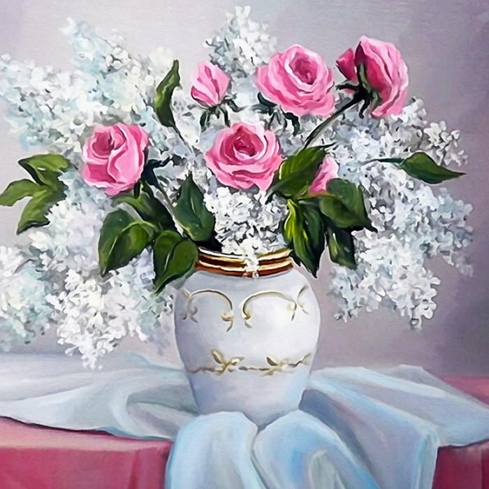 New Diy 5d Diamond Home Decorations Table Vases Diamonds