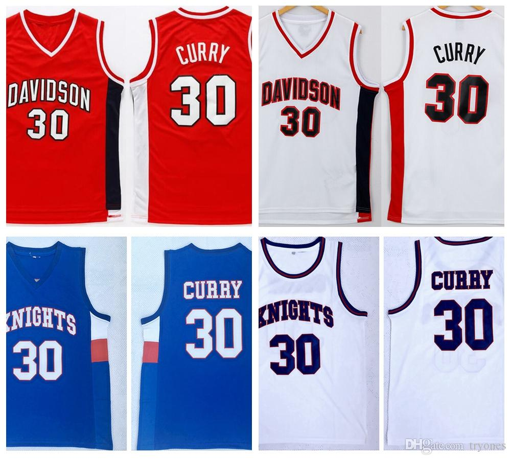 2019 Mens Davidson Wildcat Stephen Curry College Basketball Shirts Vintage  Red White 30 Stephen Curry Stitched University Basketball Jerseys From  Tryones 21a14f460