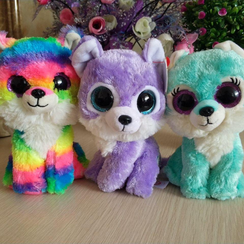 Great Wolf Lodge Iris TY BEANIE BOOS COLLECTION 15CM 6 BIG EYE Plush Toys  Stuffed Animals KIDS TOYS Children Toy Soft UK 2019 From Callshe c069b5bc509