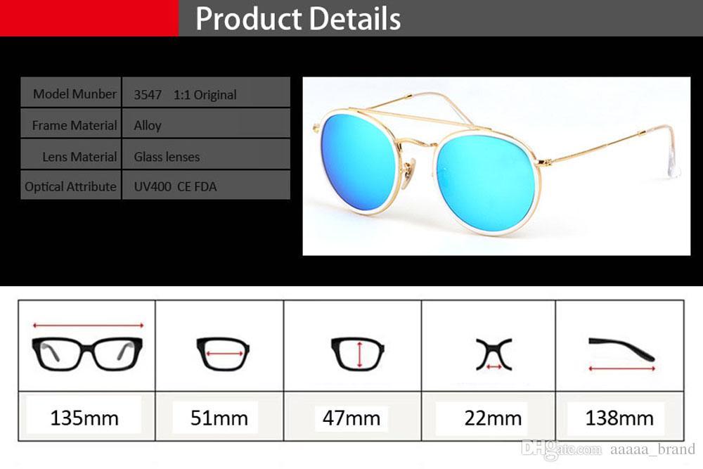ücretsiz vaka ve kutu ile Marka Tasarımcı cam mercek Yuvarlak Güneş gözlüğü Erkekler Kadınlar Steampunk Gözlüğü Moda Retro Vintage güneş gözlüğü